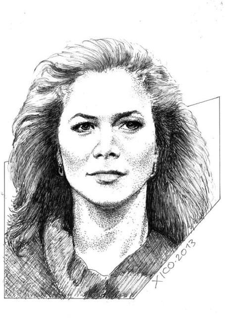 Kathleen Turner por FCARLOS